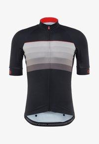 Giro - CHRONO EXPERT - Printtipaita - black/red horizon - 6