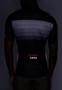 Giro - CHRONO EXPERT - Printtipaita - black/red horizon - 5