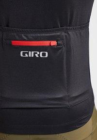 Giro - CHRONO EXPERT - Printtipaita - black/red horizon - 7
