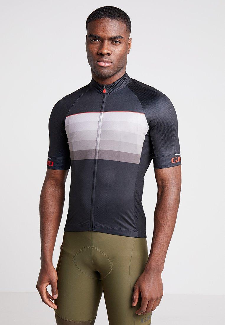 Giro - CHRONO EXPERT - T-shirts print - black/red horizon