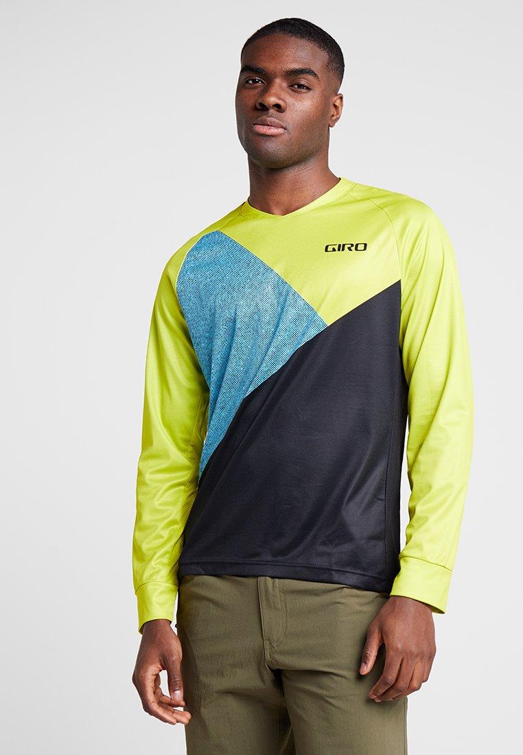Giro - GIRO ROUST  - Langarmshirt - citron green/shadow