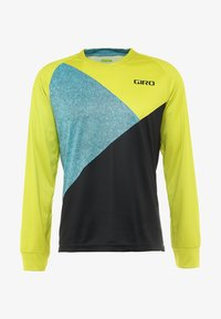 Giro - GIRO ROUST  - Langarmshirt - citron green/shadow - 4