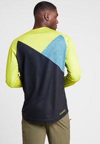 Giro - GIRO ROUST  - Langarmshirt - citron green/shadow - 2
