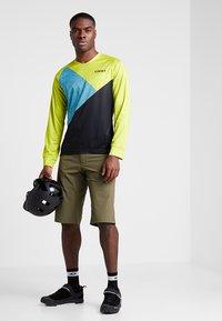 Giro - GIRO ROUST  - Langarmshirt - citron green/shadow - 1