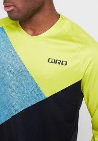 Giro - GIRO ROUST  - Langarmshirt - citron green/shadow - 3