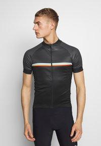 Giro - GIRO CHRONO SPORT - Print T-shirt - black classic - 0