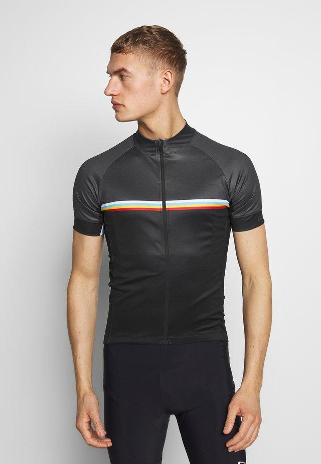 GIRO CHRONO SPORT - T-shirt med print - black classic