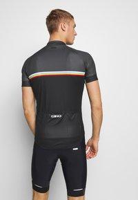 Giro - GIRO CHRONO SPORT - Print T-shirt - black classic - 2
