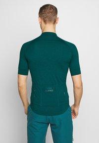 Giro - NEW ROAD  - T-Shirt print - true spruce heather - 2