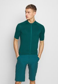Giro - NEW ROAD  - T-Shirt print - true spruce heather - 0