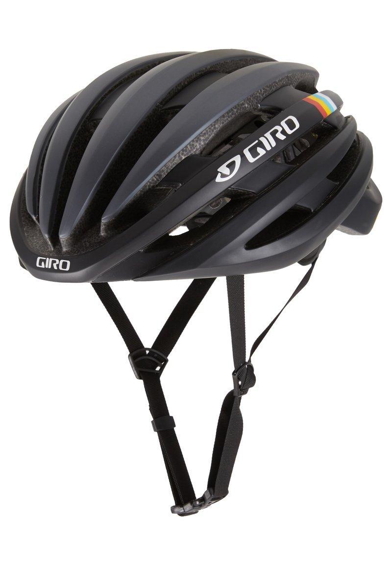 Giro - CINDER MIPS - Helm - matte gunmetal classic stripes