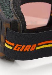 Giro - BLOK - Lyžařské brýle - black/orange - 2
