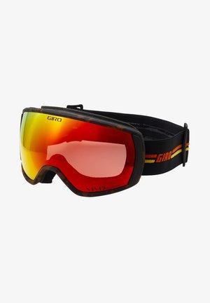 BLOK - Masque de ski - black/orange