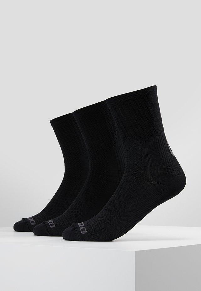 TEAM 3 PACK - Träningssockor - black/dark shadow