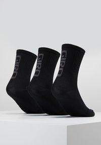 Giro - TEAM 3 PACK - Calcetines de deporte - black/dark shadow - 3