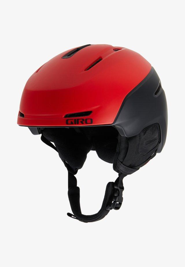 NEO MIPS - Helm - mattebright red/black