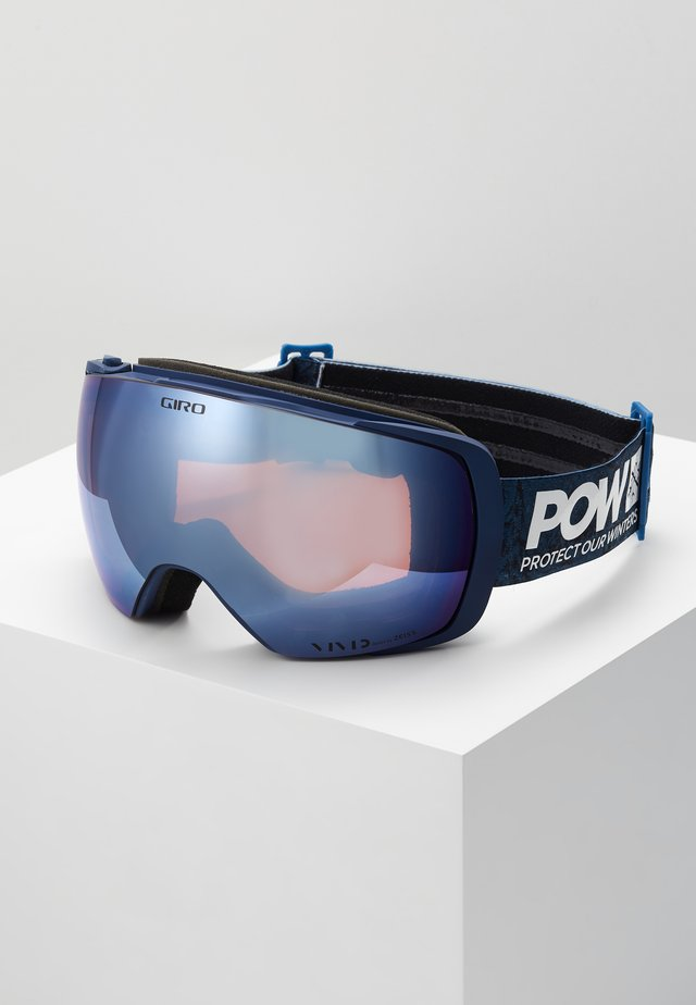 CONTACT PROTECT OUR WINTER - Ski goggles - black/blue
