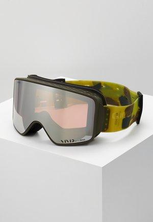 METHOD - Ski goggles - dark green/anthracite