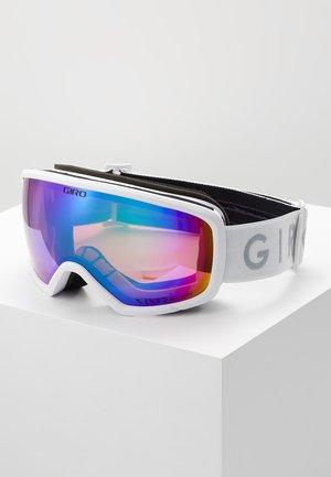RINGO - Skidglasögon - white core light/pink