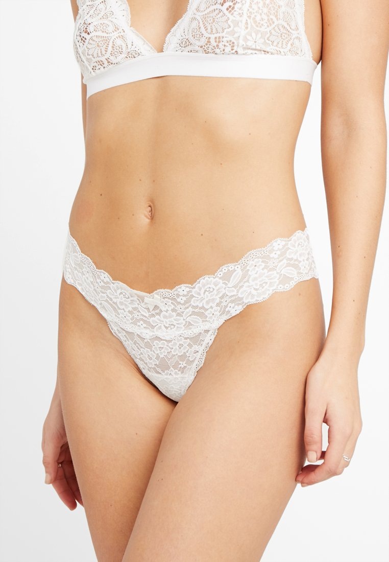 Gilly Hicks - CORE THONG 3 PACK - String - white/nude/black