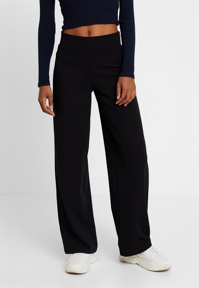 JENNER TROUSERS - Pantalon classique - black
