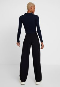 Gina Tricot - JENNER TROUSERS - Trousers - black - 2