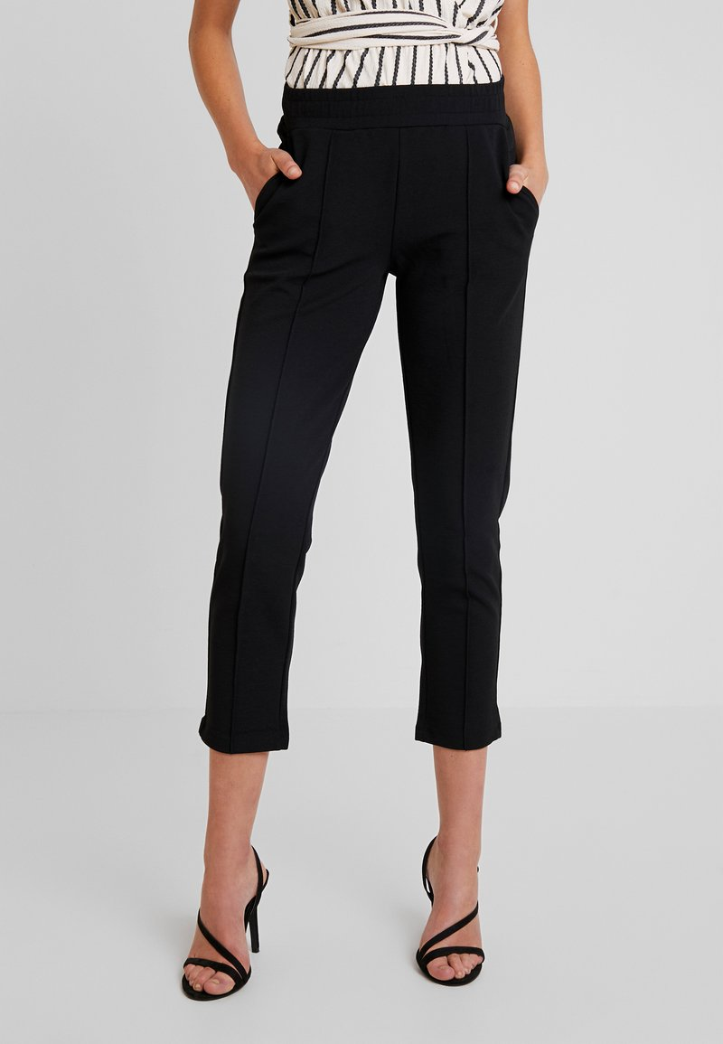 Gina Tricot - Trousers - black