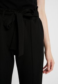 Gina Tricot - INES TROUSERS - Trousers - black - 5