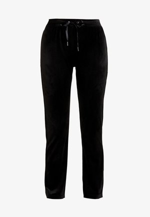 CECILIA TROUSERS - Tracksuit bottoms - black