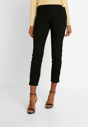 CECILIA TROUSERS - Trousers - black