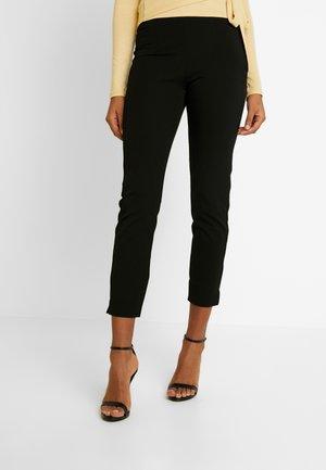 CECILIA TROUSERS - Pantalones - black