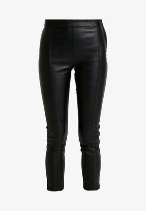 MAJ TROUSERS - Pantalon classique - black