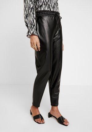 CARI TROUSERS - Pantaloni - black