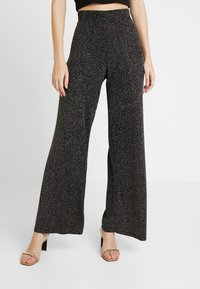 Gina Tricot - EXCLUSIVE ROXY TROUSERS - Kalhoty - black - 0