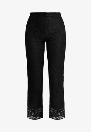 EXCLUSIVE LUCY TROUSERS - Pantalon classique - black