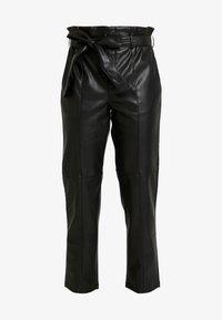 Gina Tricot - Spodnie materiałowe - black - 3
