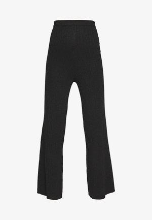 STINA TROUSERS - Pantalon classique - black