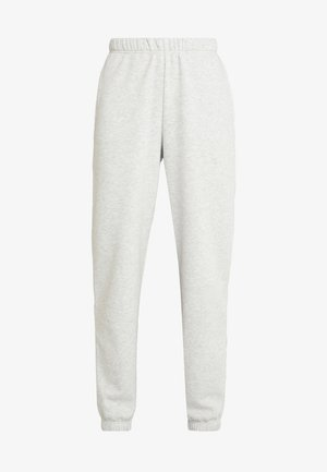 BASIC - Pantaloni sportivi - light grey melange