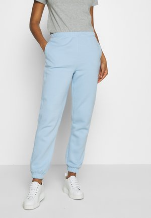 BASIC - Tracksuit bottoms - powder blue