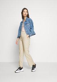 Gina Tricot - LISA  - Trousers - light linen beige - 1