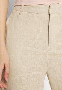Gina Tricot - LISA  - Trousers - light linen beige - 5