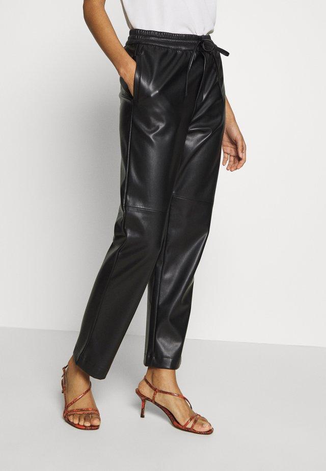 JOHANNA TROUSER - Trousers - black