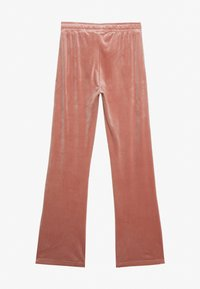 Gina Tricot - CECILIA TROUSERS - Tracksuit bottoms - ash rose - 1
