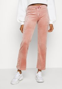 Gina Tricot - CECILIA TROUSERS - Verryttelyhousut - ash rose - 0
