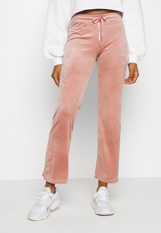 CECILIA TROUSERS - Träningsbyxor - ash rose
