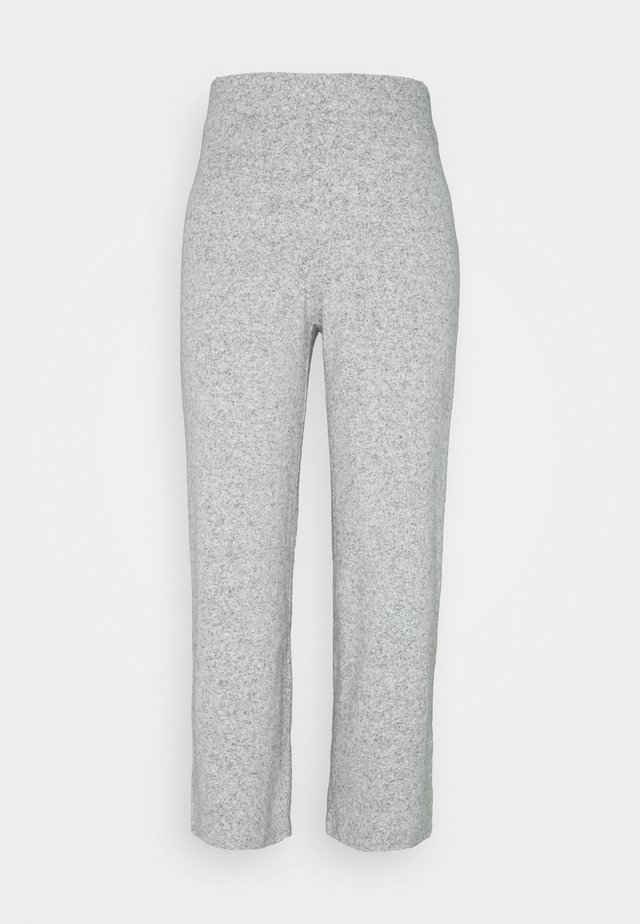 ALICIA CULOTTE TROUSERS - Tracksuit bottoms - grey melange