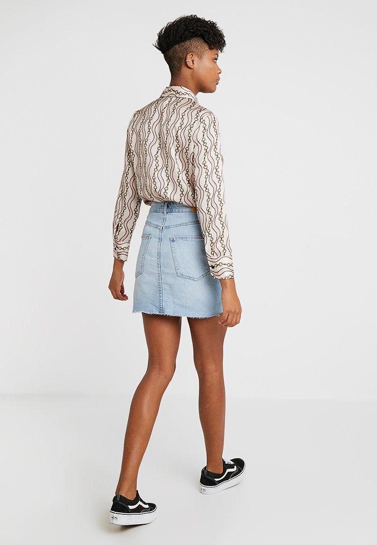 En Light Blue Gina Vintage Jean SkirtJupe Tricot zGLqSUpjMV