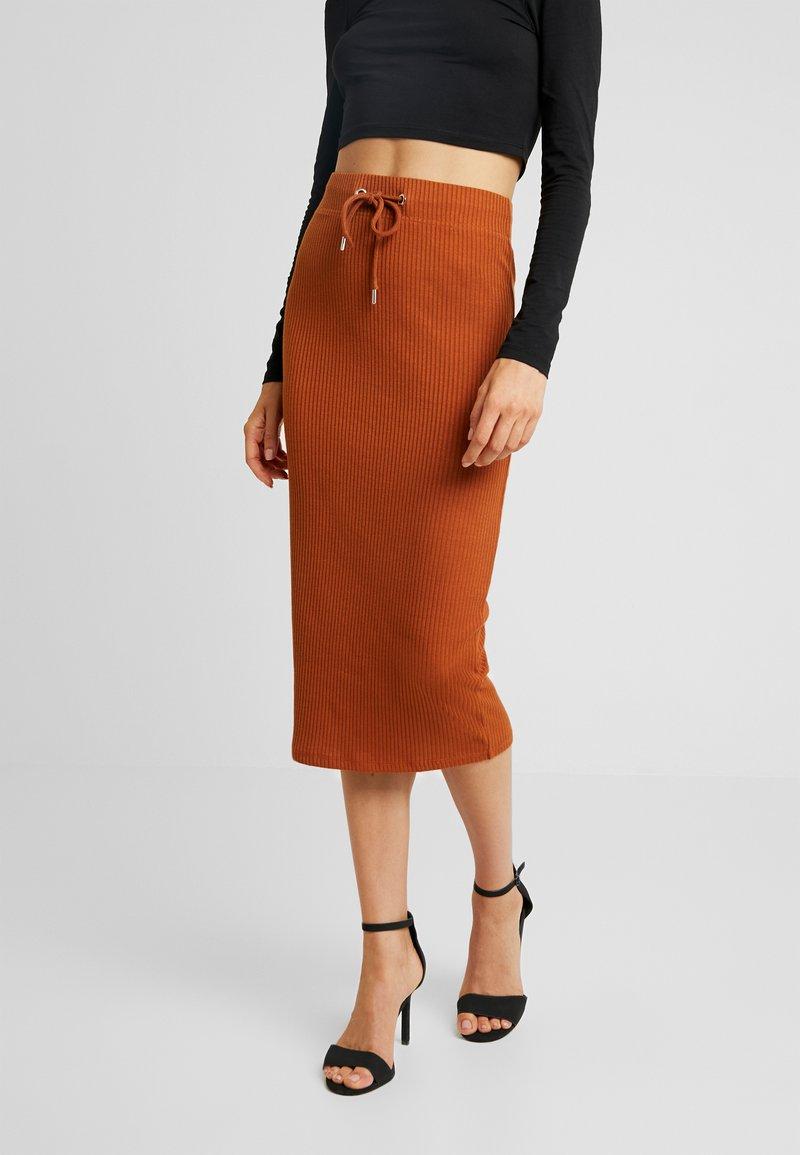 Gina Tricot - SANNE SKIRT - Pencil skirt - sugar almond