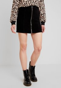 Gina Tricot - VELMA SKIRT - Pencil skirt - black - 0