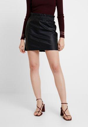 JOSIE SKIRT - Mini skirt - black